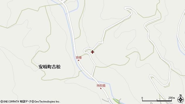 大分県国東市安岐町吉松2590周辺の地図