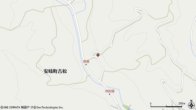 大分県国東市安岐町吉松2615周辺の地図