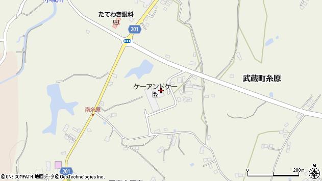 大分県国東市武蔵町糸原2686周辺の地図