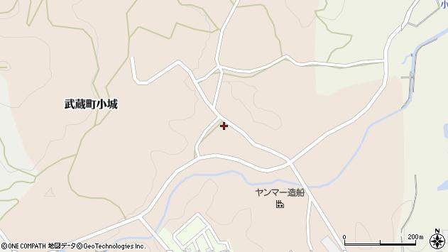 大分県国東市武蔵町小城315周辺の地図