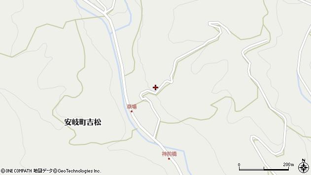 大分県国東市安岐町吉松2609周辺の地図