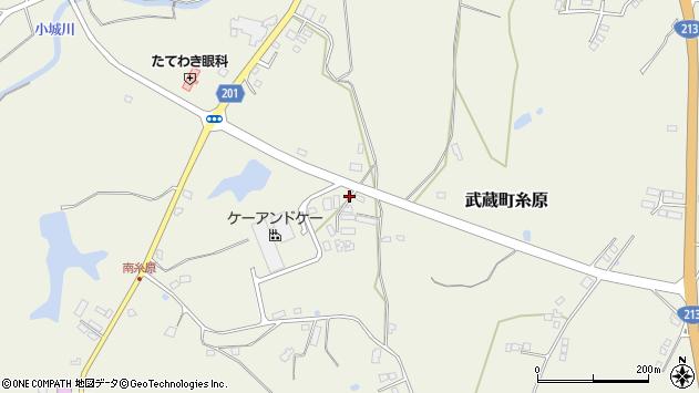 大分県国東市武蔵町糸原2708周辺の地図