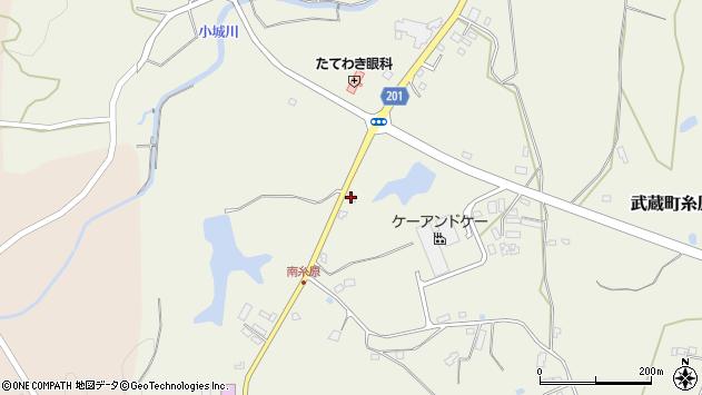 大分県国東市武蔵町糸原2617周辺の地図