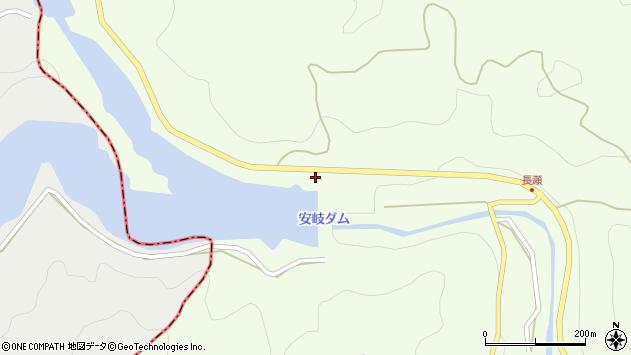 大分県国東市安岐町矢川1007周辺の地図