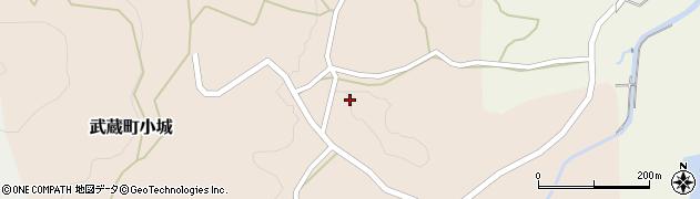 大分県国東市武蔵町小城612周辺の地図