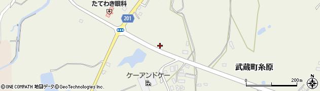 大分県国東市武蔵町糸原2640周辺の地図