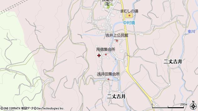 福岡県糸島市二丈吉井1965周辺の地図
