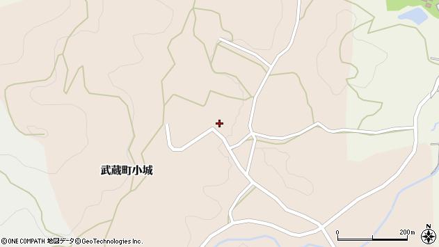 大分県国東市武蔵町小城558周辺の地図