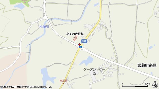 大分県国東市武蔵町糸原2545周辺の地図