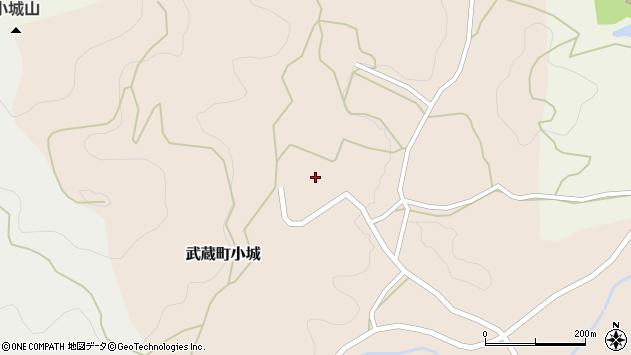 大分県国東市武蔵町小城482周辺の地図