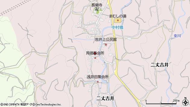 福岡県糸島市二丈吉井1962周辺の地図