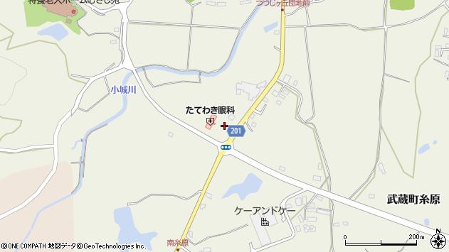 大分県国東市武蔵町糸原2537周辺の地図
