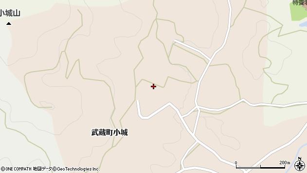 大分県国東市武蔵町小城518周辺の地図