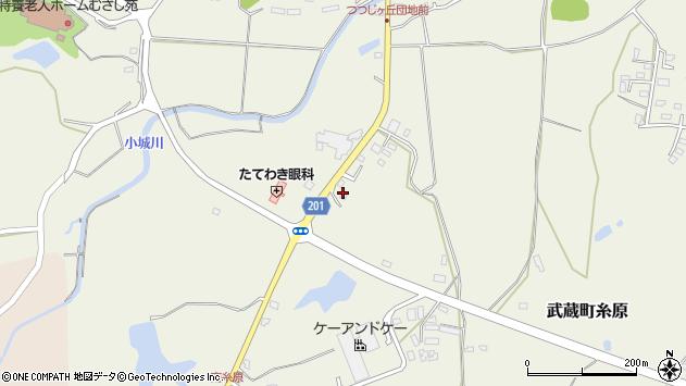 大分県国東市武蔵町糸原2650周辺の地図