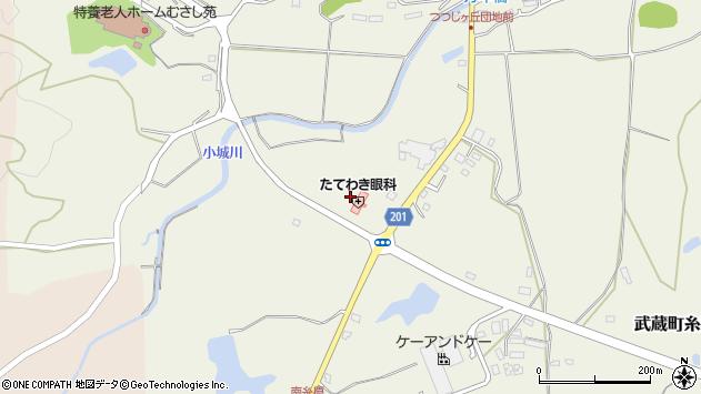 大分県国東市武蔵町糸原2517周辺の地図