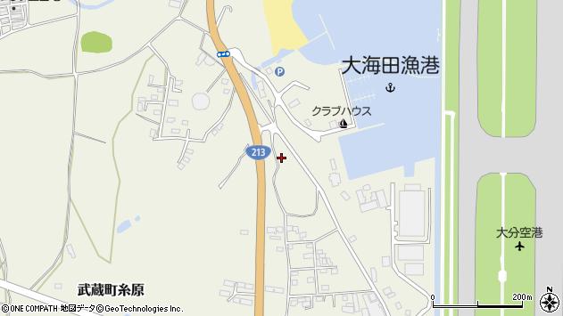 大分県国東市武蔵町糸原3254周辺の地図