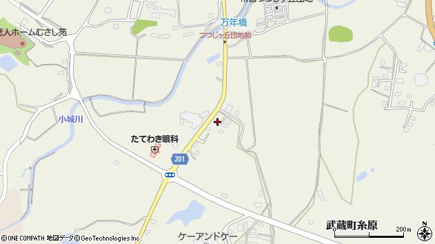 大分県国東市武蔵町糸原2653周辺の地図