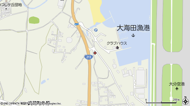 大分県国東市武蔵町糸原3354周辺の地図