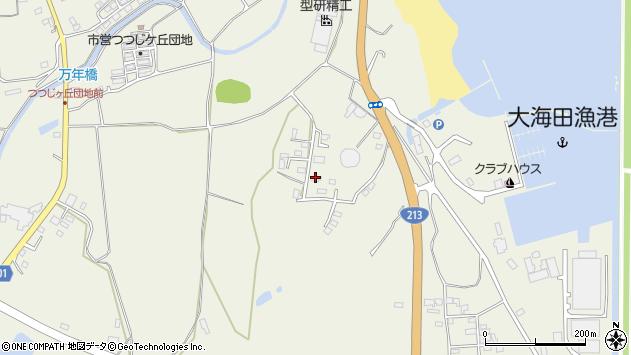 大分県国東市武蔵町糸原3057周辺の地図