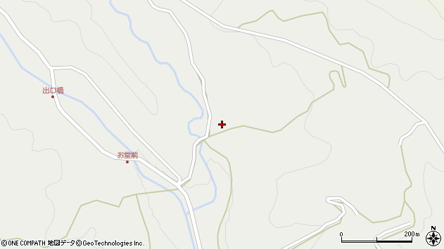 大分県国東市安岐町吉松2005周辺の地図