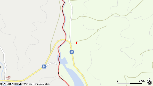 大分県国東市安岐町矢川1064周辺の地図