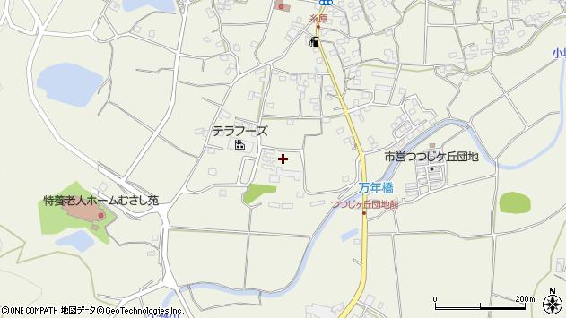 大分県国東市武蔵町糸原1206周辺の地図