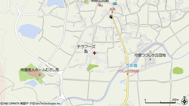 大分県国東市武蔵町糸原1202周辺の地図