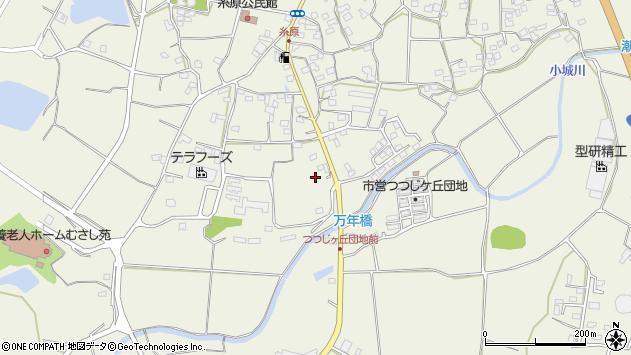 大分県国東市武蔵町糸原1334周辺の地図