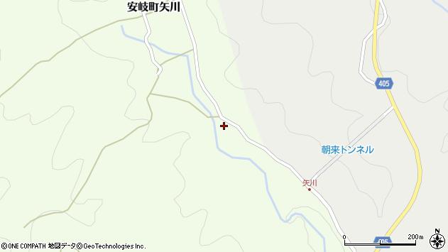 大分県国東市安岐町矢川233周辺の地図