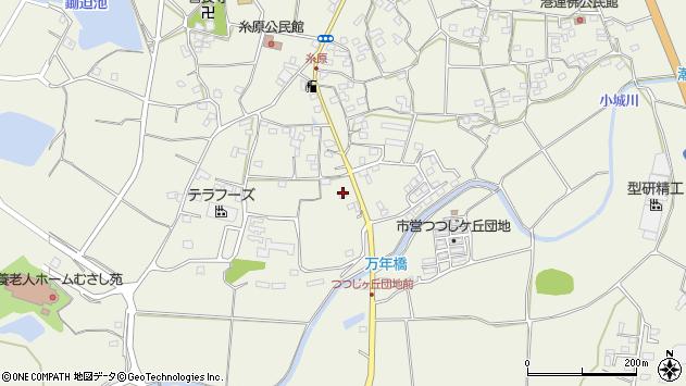 大分県国東市武蔵町糸原1331周辺の地図