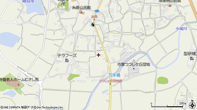 大分県国東市武蔵町糸原1316周辺の地図