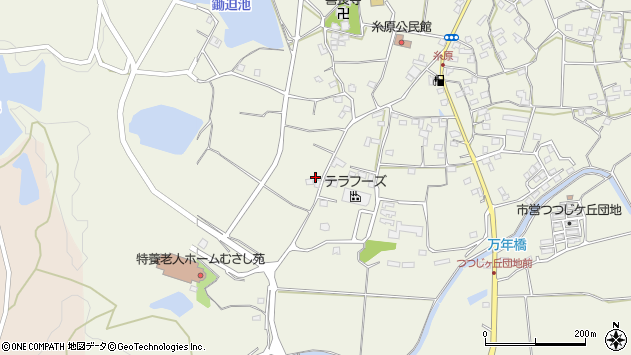 大分県国東市武蔵町糸原2268周辺の地図