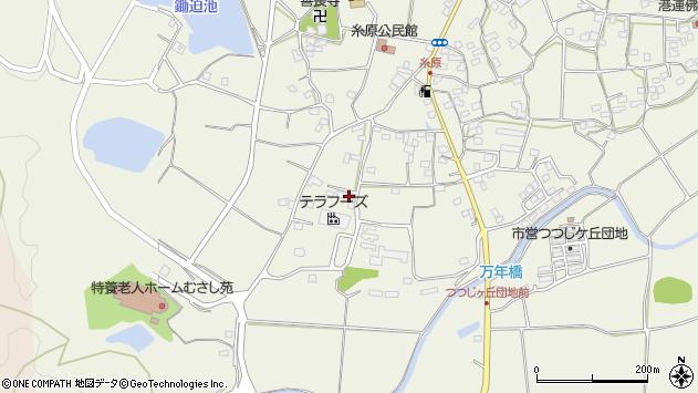 大分県国東市武蔵町糸原1224周辺の地図
