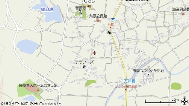 大分県国東市武蔵町糸原1232周辺の地図