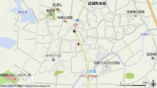 大分県国東市武蔵町糸原1302周辺の地図