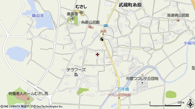 大分県国東市武蔵町糸原490周辺の地図