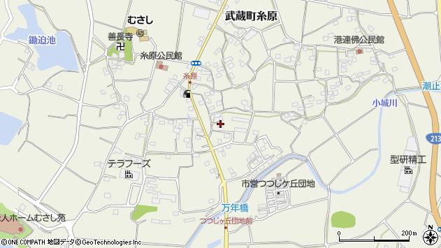 大分県国東市武蔵町糸原1395周辺の地図