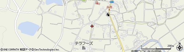 大分県国東市武蔵町糸原1235周辺の地図