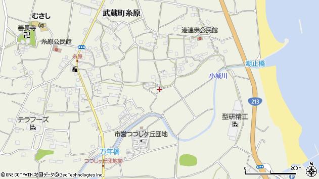 大分県国東市武蔵町糸原1633周辺の地図