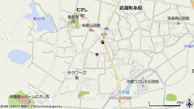 大分県国東市武蔵町糸原1240周辺の地図
