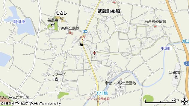 大分県国東市武蔵町糸原1403周辺の地図