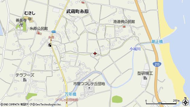 大分県国東市武蔵町糸原1627周辺の地図