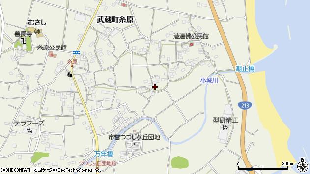 大分県国東市武蔵町糸原1699周辺の地図