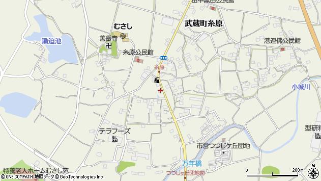 大分県国東市武蔵町糸原1281周辺の地図