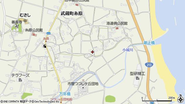 大分県国東市武蔵町糸原1634周辺の地図