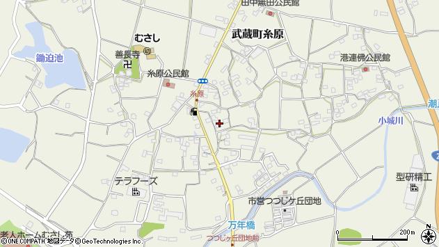 大分県国東市武蔵町糸原1405周辺の地図