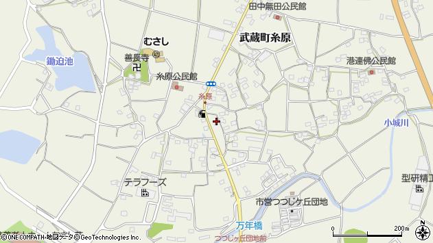 大分県国東市武蔵町糸原1276周辺の地図
