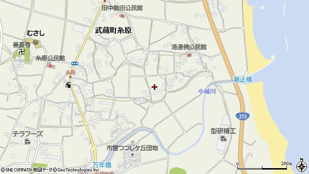 大分県国東市武蔵町糸原1704周辺の地図