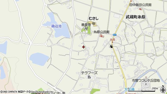 大分県国東市武蔵町糸原1090周辺の地図