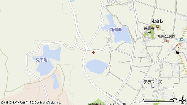 大分県国東市武蔵町糸原994周辺の地図